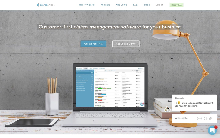 Claimable - Claims Management Software