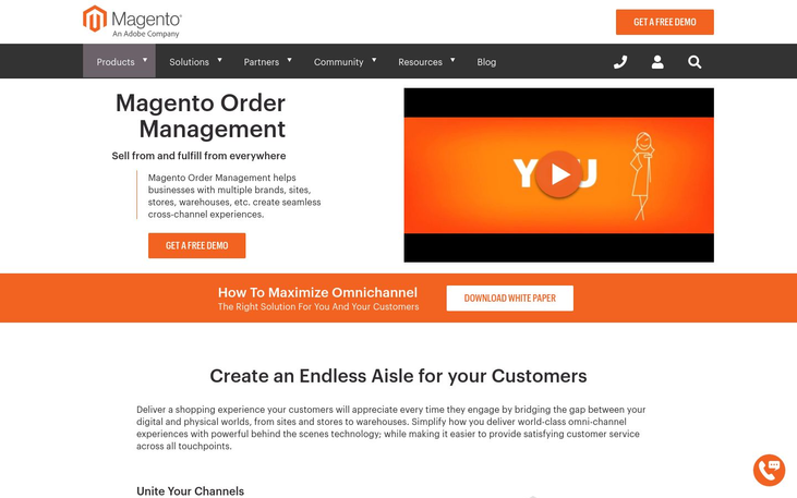 Magento - Order Management Software