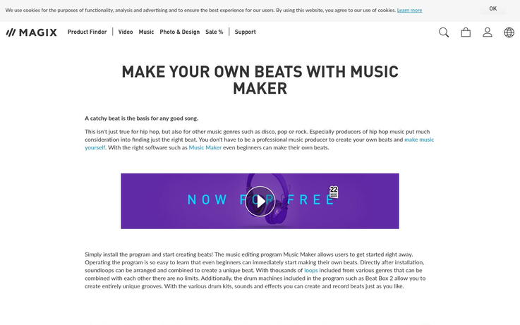 Magix - Beat Making Software