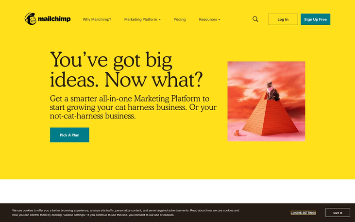 MailChimp - Email Marketing Service