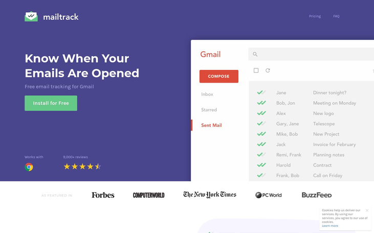 Mailtrack - Email Tracking Software