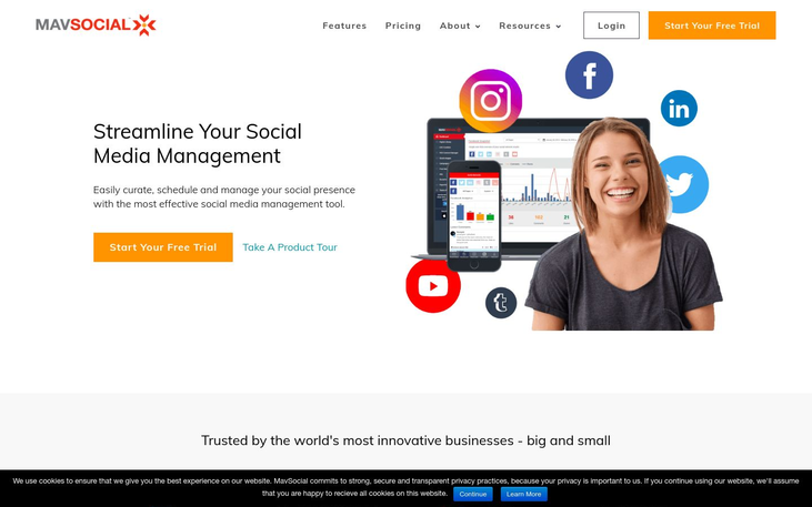 MavSocial - Digital Asset Management Software