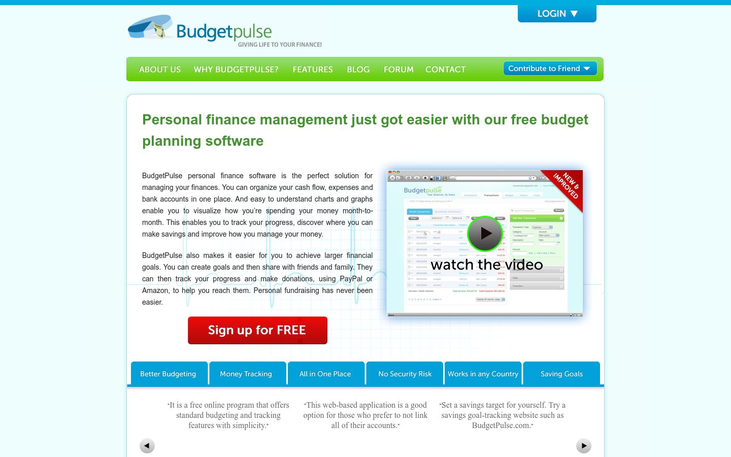Budget Pulse - Budgetting Software
