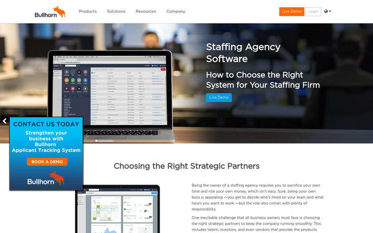 Bullhorn - Staffing Agency Software
