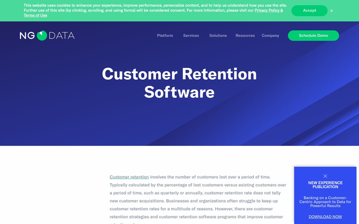 NgData - Customer Retention Software