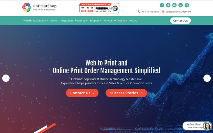 On Print Shop - Web To Print Software