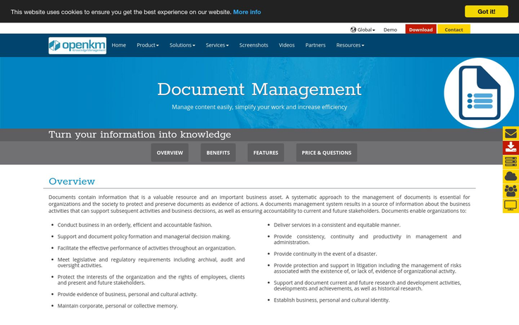Openkm - Personal Document Management Software