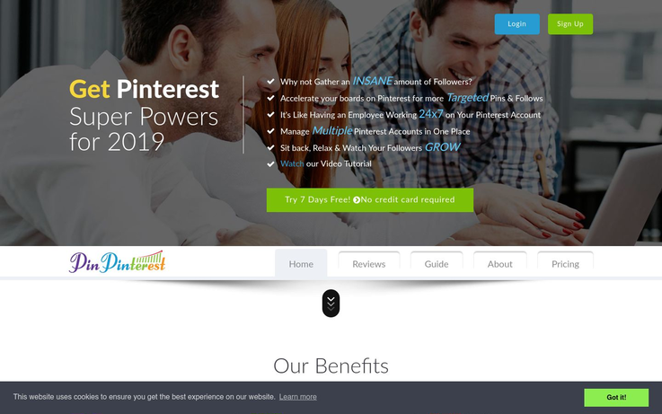 PinPinterest - Pinterest Automation Software
