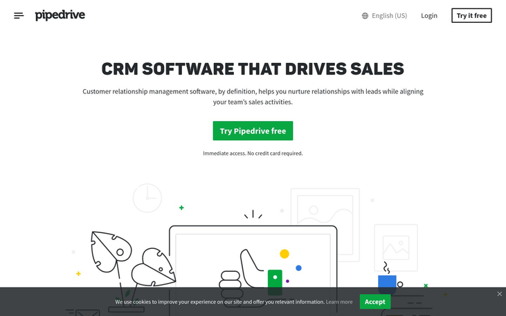 Pipedrive - Customer Relationship Management Software