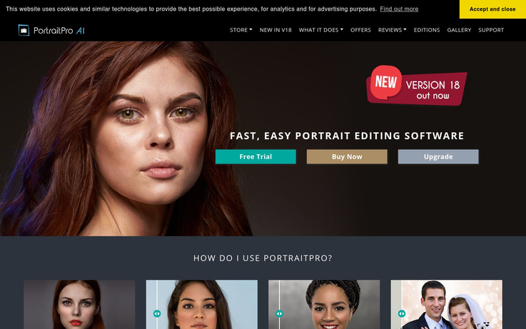 Portrait Pro - Photo Editing Software