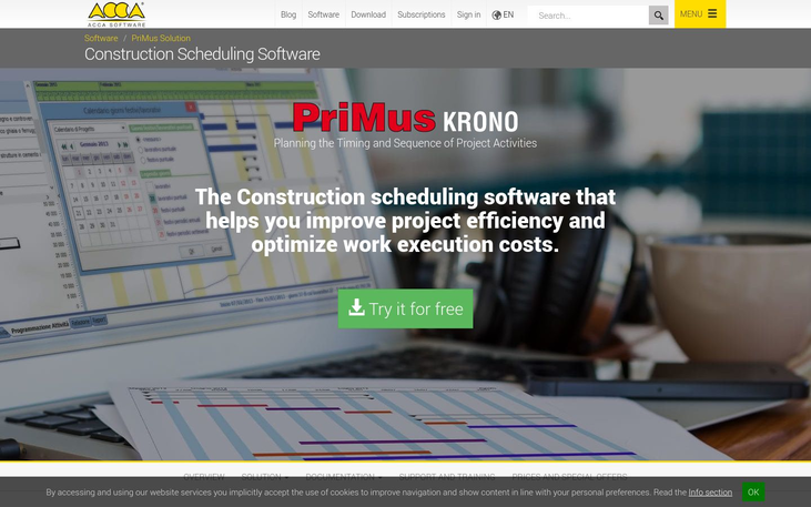 PriMus KRONO - Construction Scheduling Software