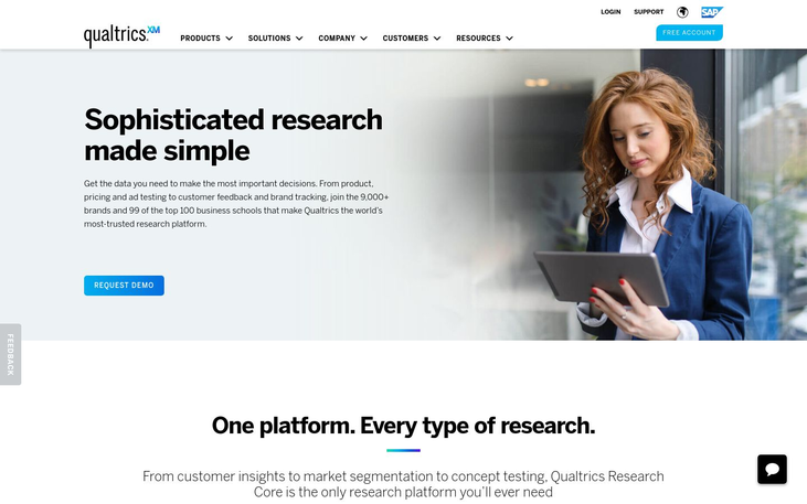 Qualtrics Research Core - Survey Software