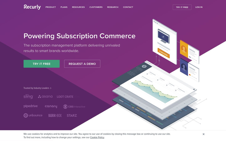 Recurly - Subscription Management Software