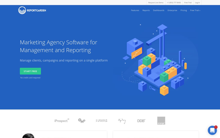 ReportGarden - Marketing Agency Software