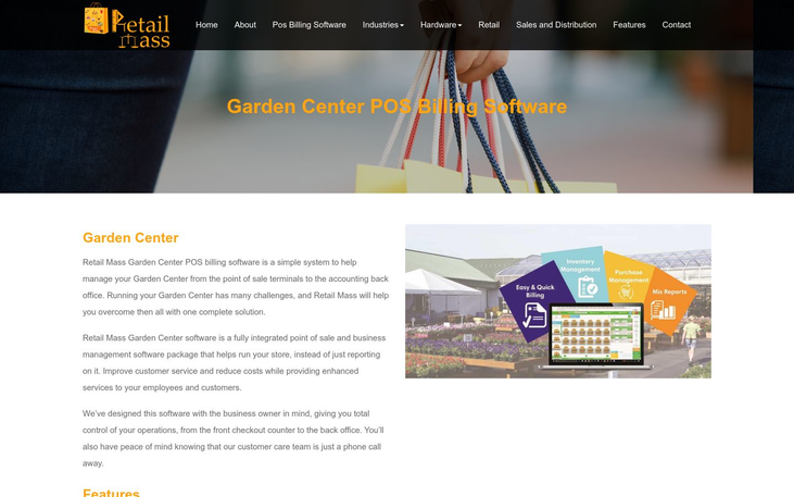 Retail Mass - Garden Center Software