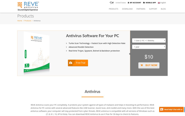 Reve Antivirus - Anti Virus Software