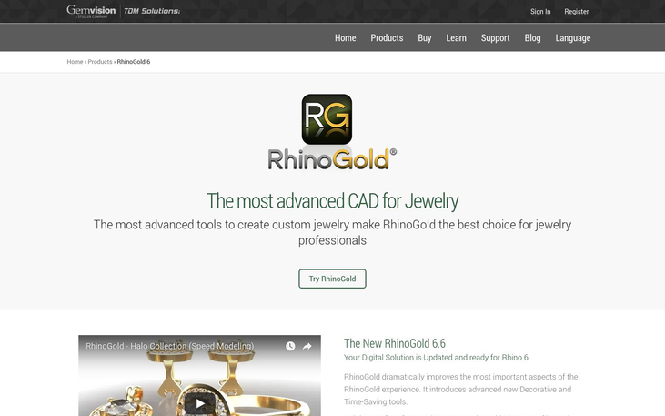 RhinoGold 6 - Jewelry Designer Software