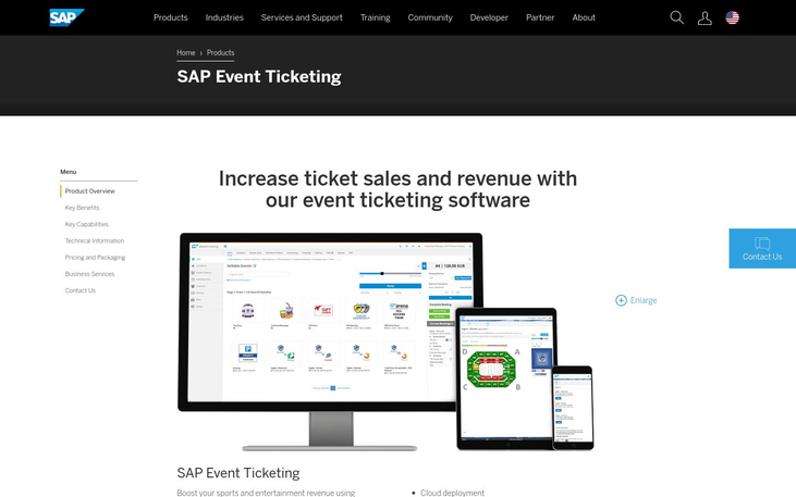SAP - Event Ticketing Software