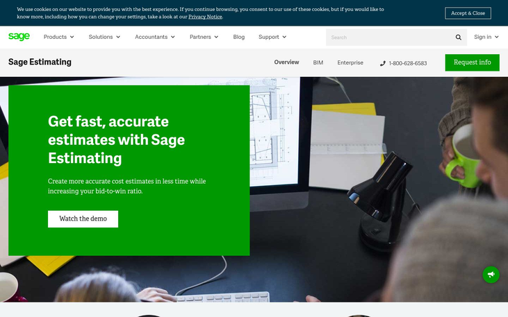 Sage - Construction Estimating Software