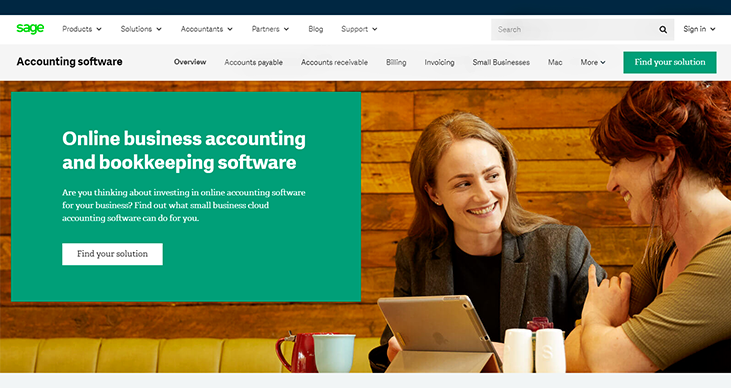 Sage - Accounting Software