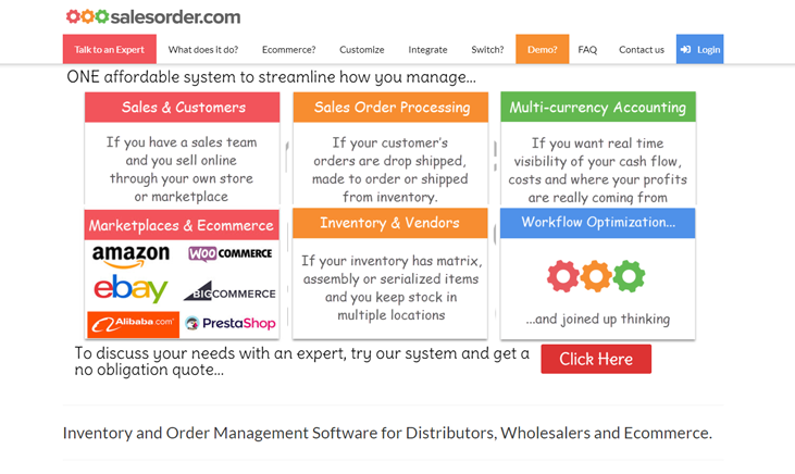 Salesorder.Com - Order Management Software