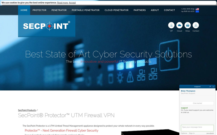 SecPoint Protector - Anti Hacking Software