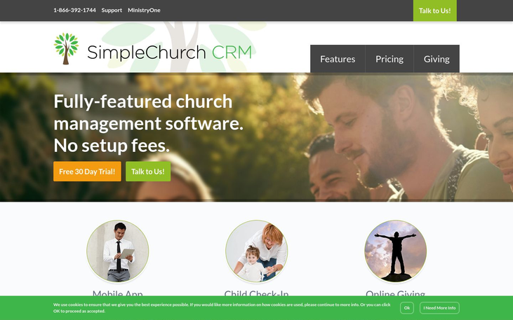 SimpleChurch - Church Management Software