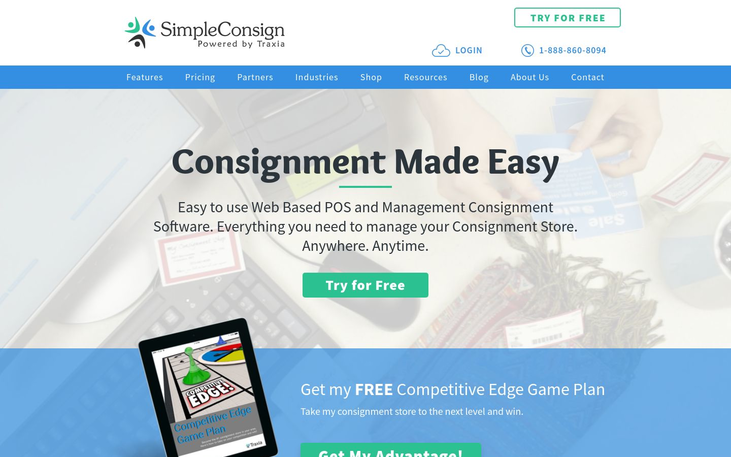 SimpleConsign - Consignment Software
