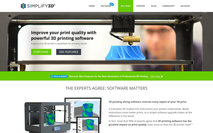 Simplify3D - 3D Printing Software