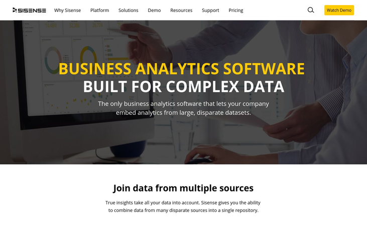 Sisense - Business Analysis Software