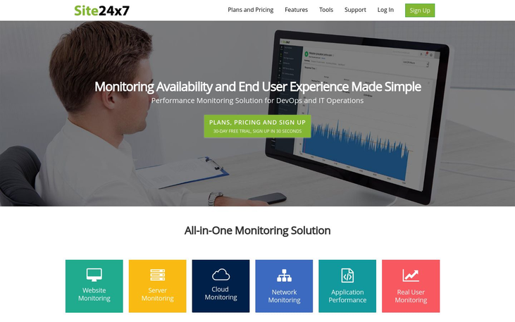 Site24x7 - Website Monitoring Software