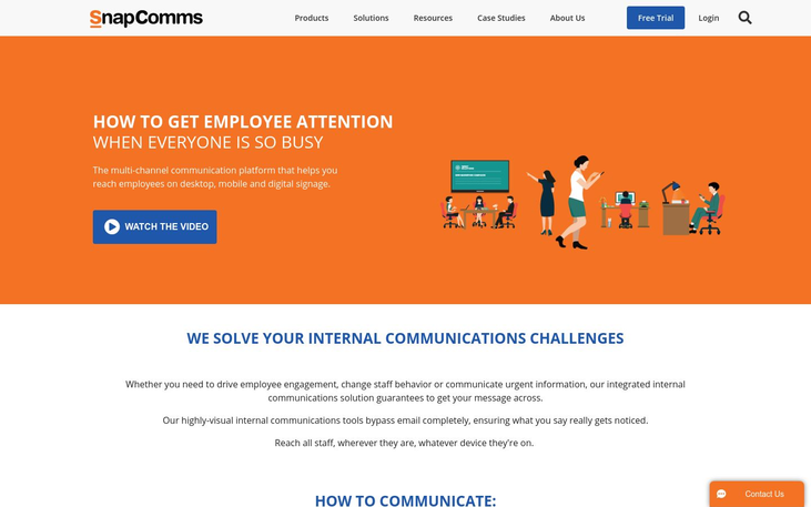 SnapComms - Employee Communication Software