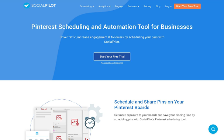 SocialPilot - Pinterest Automation Software