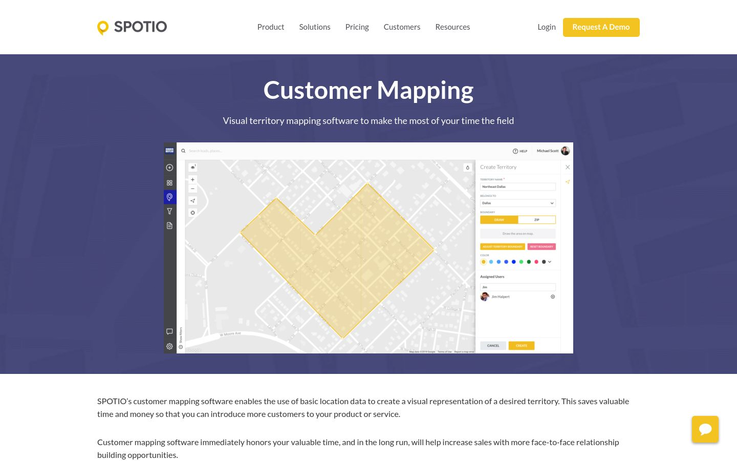 Spotio - Customer Mapping Software