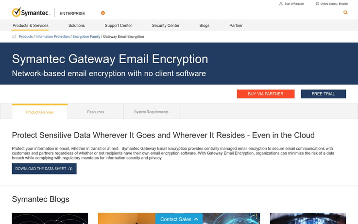 Symantec - Email Encryption Software