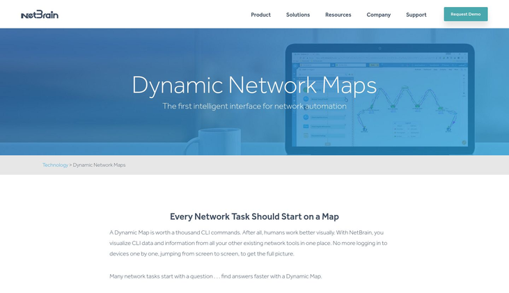 NetBrain - Network Mapping Software