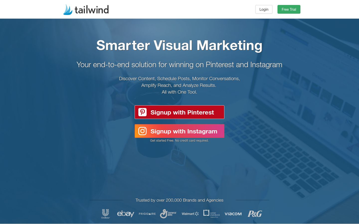 Tailwind - Pinterest Automation Software