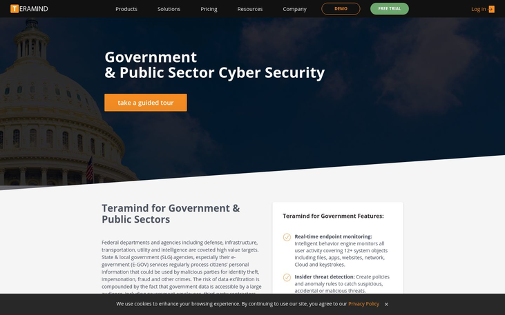 Teramind - Cybersecurity Software