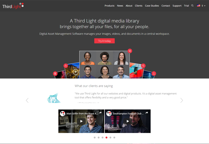 ThirdLight - Digital Asset Management Software