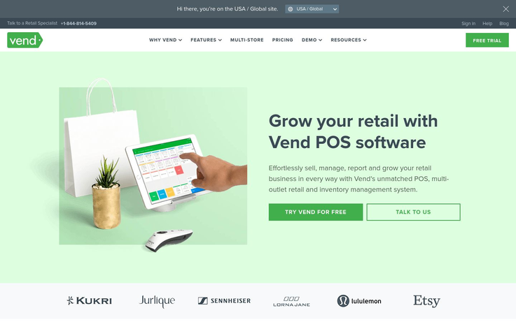 Vendhq - Point Of Sale Software