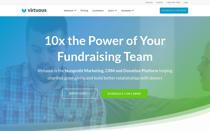 Virtuous - Fundraising Software