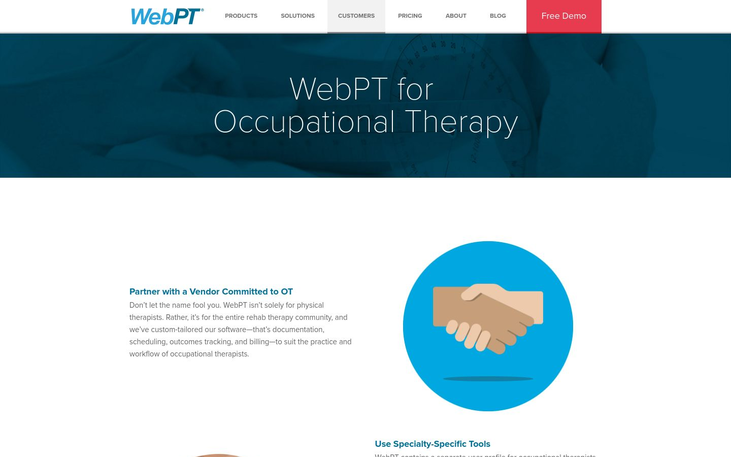 WebPT - Occupational Therapy Software