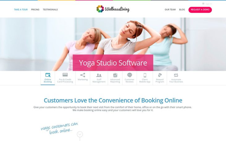 3 Best Yoga Studio Software 2020 Pricing Reviews Reapon