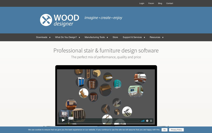 Wood Designer - Furniture Design Software