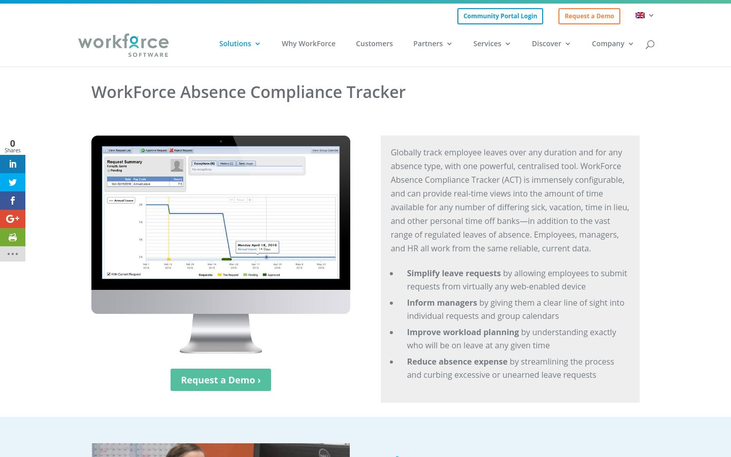 WorkForce - Absence Management Software