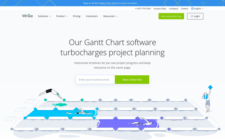 Wrike - Gantt Chart Software