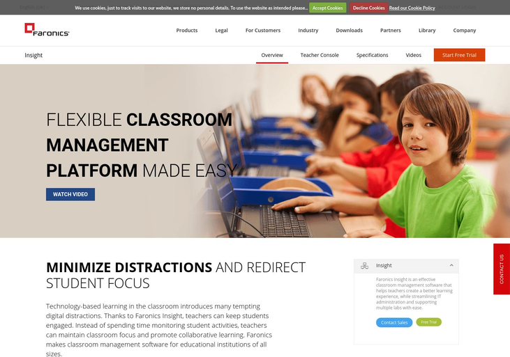Faronics - Classroom Management Software