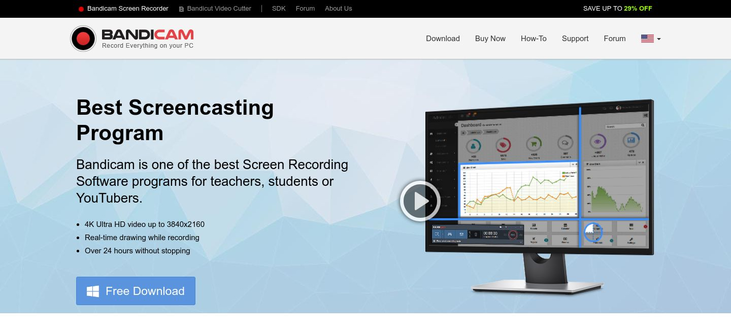 Bandicam - Screencast Software
