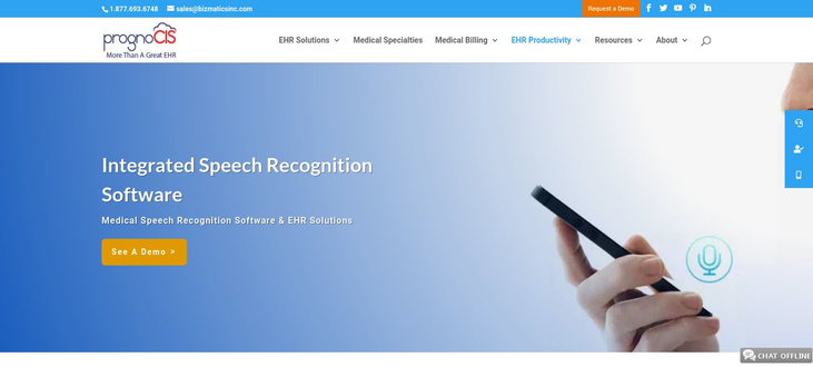 PrognoCIS - Medical Voice Recognition Software