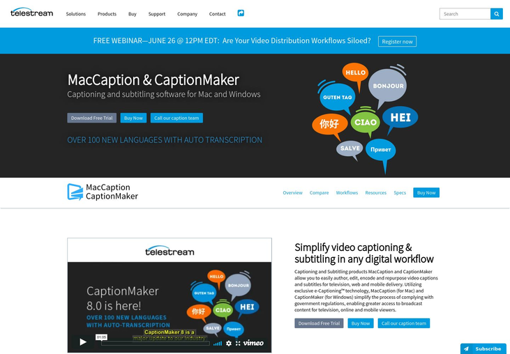 MacCaption & CaptionMaker